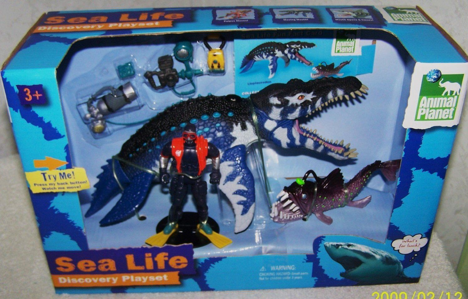 2013 Animal *Sea Life Discovery Playset* Toys