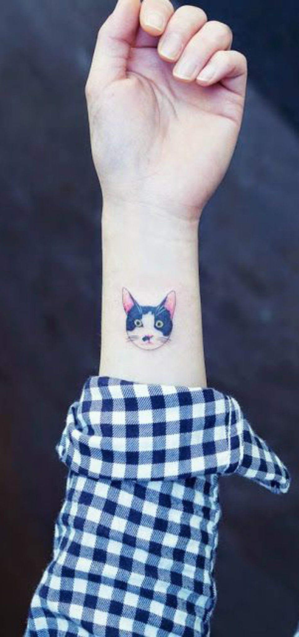 20 Cute Simple Cat Tattoo Ideas For Kitty Lovers Cat Tattoo Simple Cat Tattoo Designs Cat Tattoo