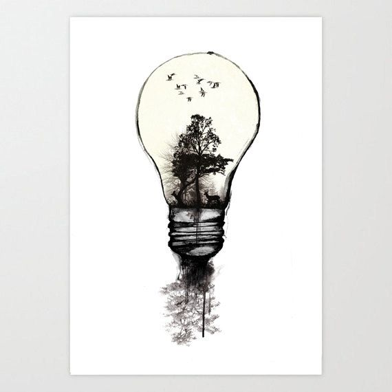 Elegant Lamp   Ink