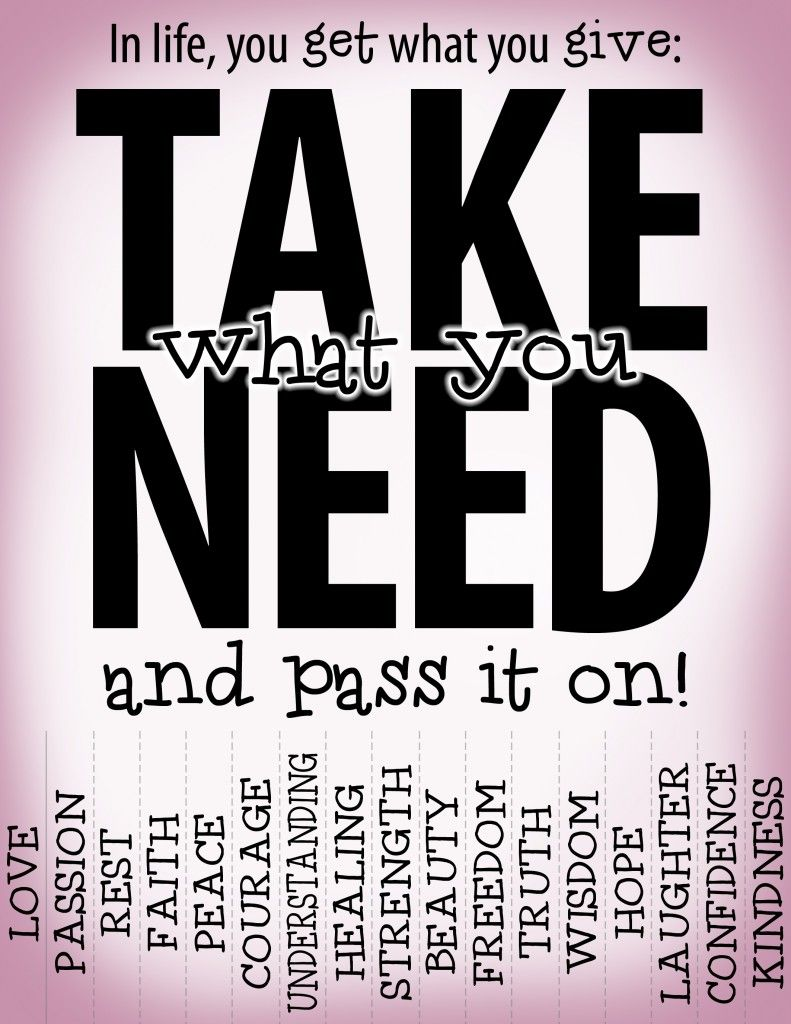 Take what you need, part 2 | P as in Pterodactyl | Take what you ...
