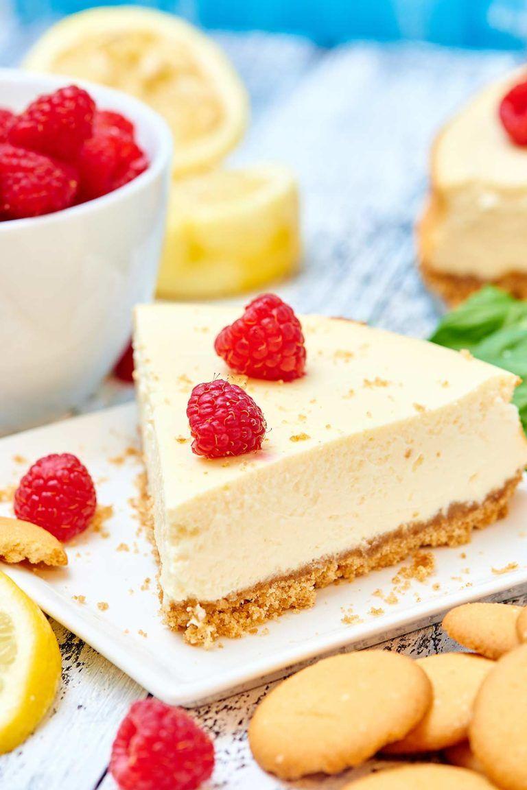 Light Greek Yogurt Cream Cheese Cheesecake Recipe 200 Calories Recipe In 2020 Homemade Cheesecake Recipes Cheesecake Recipe Without Sour Cream Cheesecake Recipes