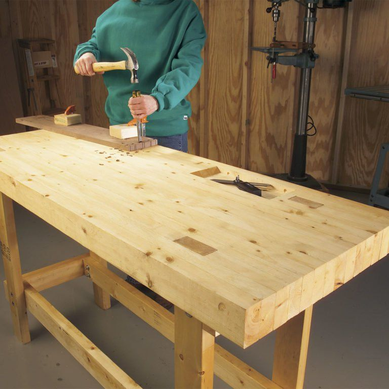 14 SuperSimple Workbenches You Can Build Building a