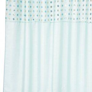 Turquoise Cross Shower Curtain Hooks