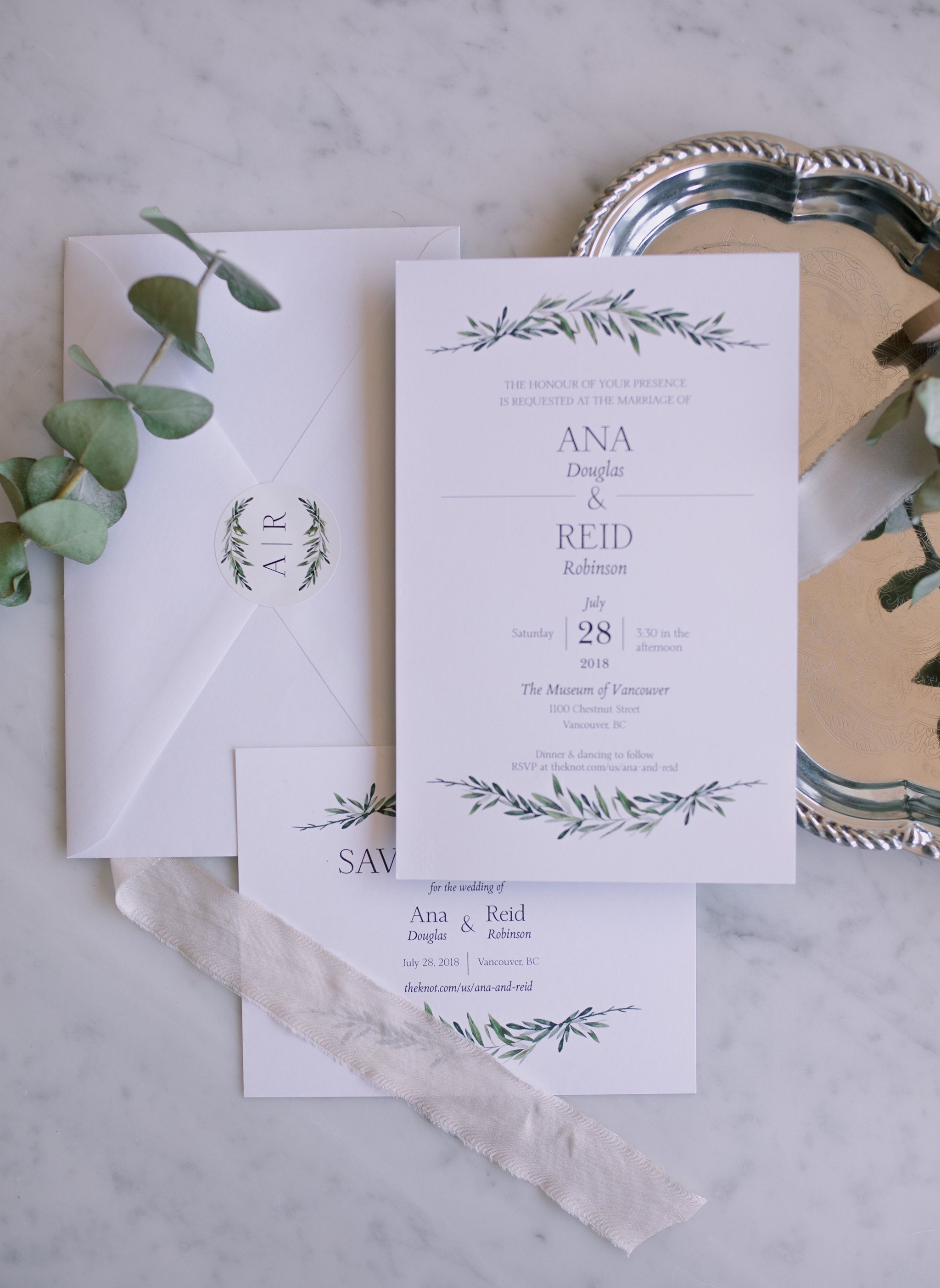 why i chose vistaprint for my wedding invitations ana douglas