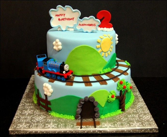 Thomas The Train Birthday Cake Walmart