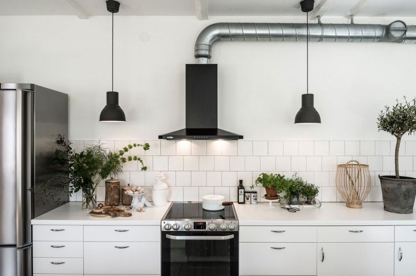 Scandinavian Design Home in Rydsgård Exhaust hood, Kitchens and - i have no objection