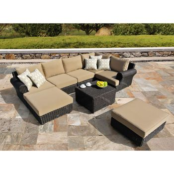 Regency 8 Piece Deep Seating Set By Sirio Patio Remodel Patio