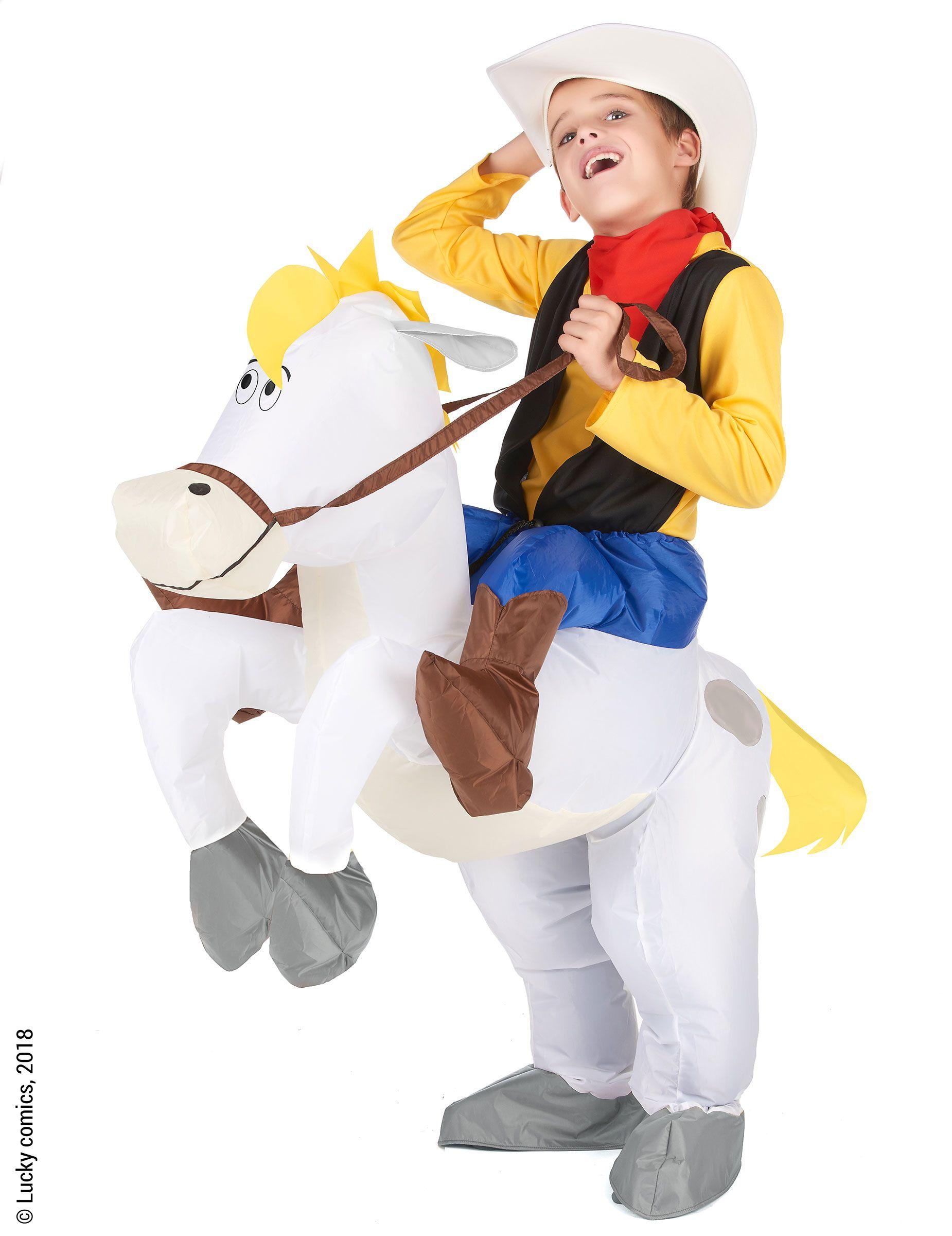 Disfraz Carry me niño Lucky Luke™  Este disfraz de Jolly Jamper y Lucky Luke e147907a78b