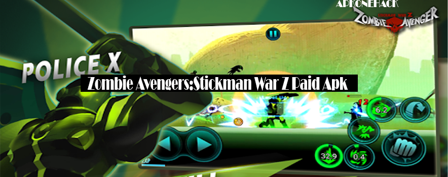 Zombie Avengers:Stickman War Z is a Action Game for android download