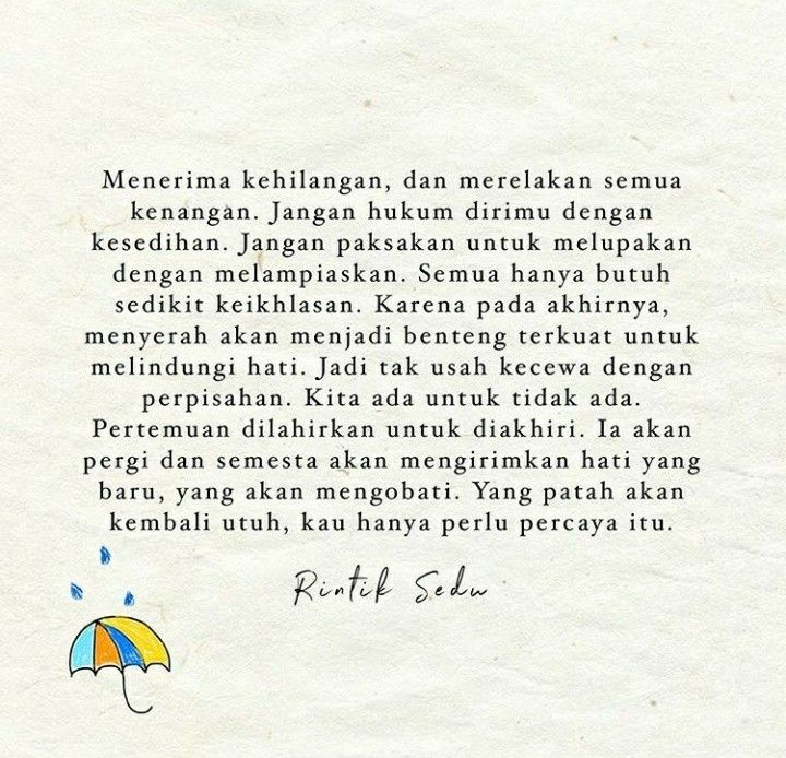 Image result for quote rintik sedu