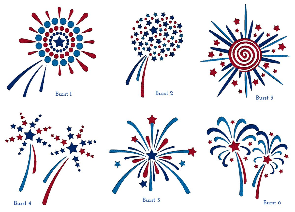 cme 4th of july freebies creative machine embroidery fabric art machine embroidery. Black Bedroom Furniture Sets. Home Design Ideas