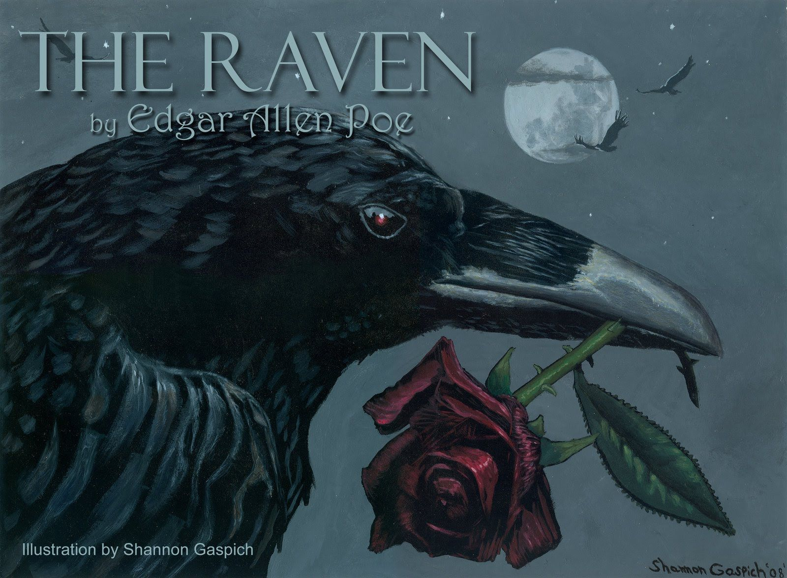 The Raven A Reading From Graphic Description