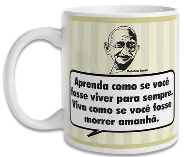 Caneca Gandhi