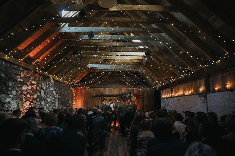 the byre at inchyra wedding barn weddings wedding, fairy lightsceremony fairy lights barn rustic wooden the byre at inchyra wedding jen owens images wedding barn fairylights