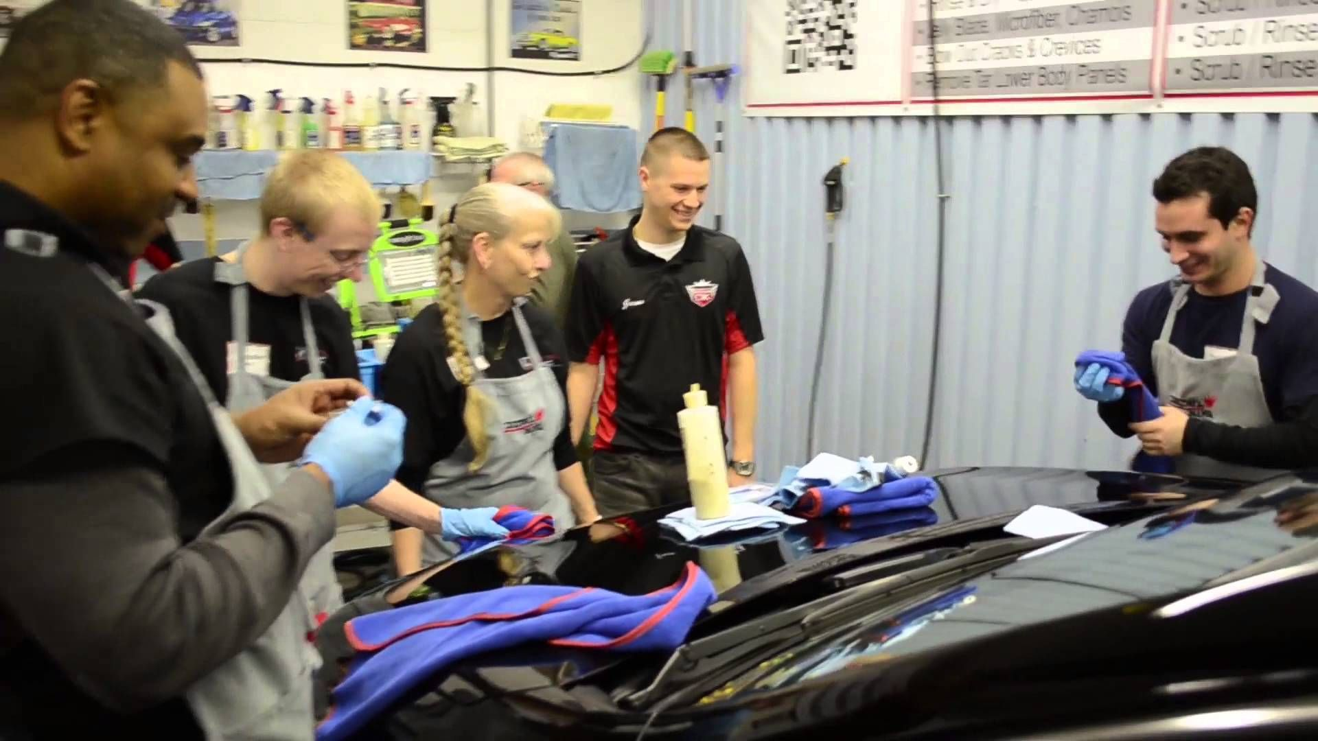 Check out the Detail King autodetailing school