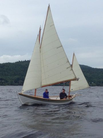 Caledonia yawl: gunter main three sail rig | Caledonia Yawl