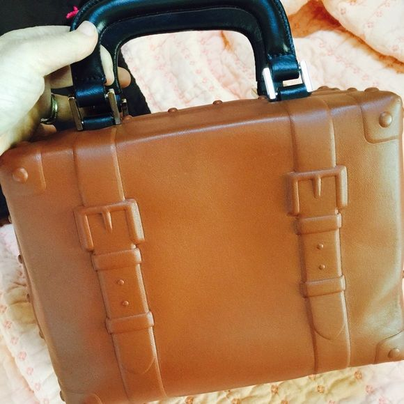 Kate Spade Rare road trip trunk bag dust bag! Looks new, great find, very rare, one other on posh! Price firm unless bundled. kate spade Bags