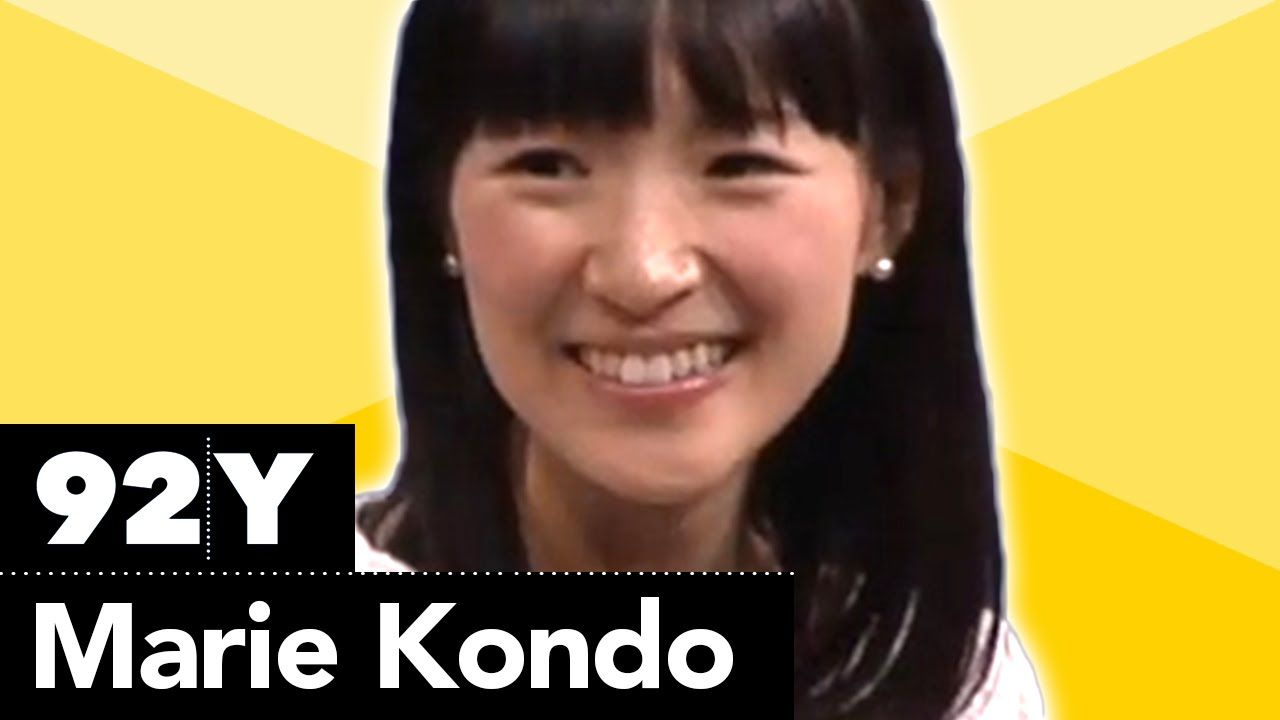 marie kondo japan 39 s queen of clean walks through the 3 steps to her konmari method for a. Black Bedroom Furniture Sets. Home Design Ideas