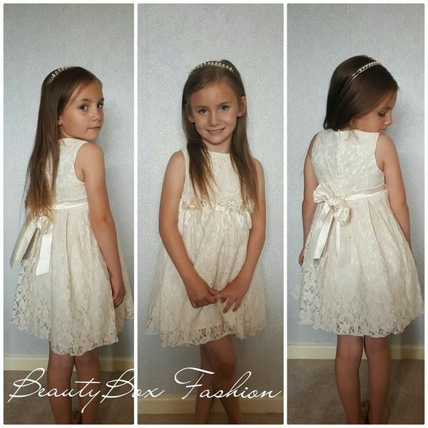 Lovely Formal Childrens Dress This Beautiful Dress Comes Is