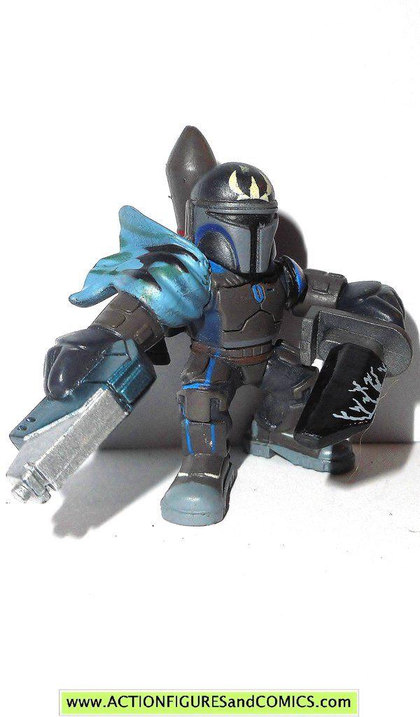 STAR WARS galactic heroes PRE VIZSLA dark saber