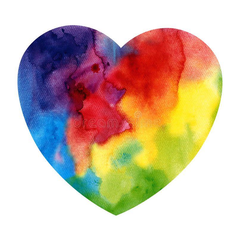 Parapluie Arc En Ciel Rainbow Art Crayon Art Colorful Art