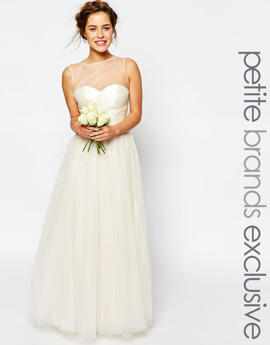 Chi chi petite chi chi london petite bridal pleated bust maxi wedding dress ombrellifo Image collections