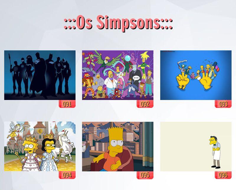 poster de filmes, poster dos simpsons, caderno dos simpsons