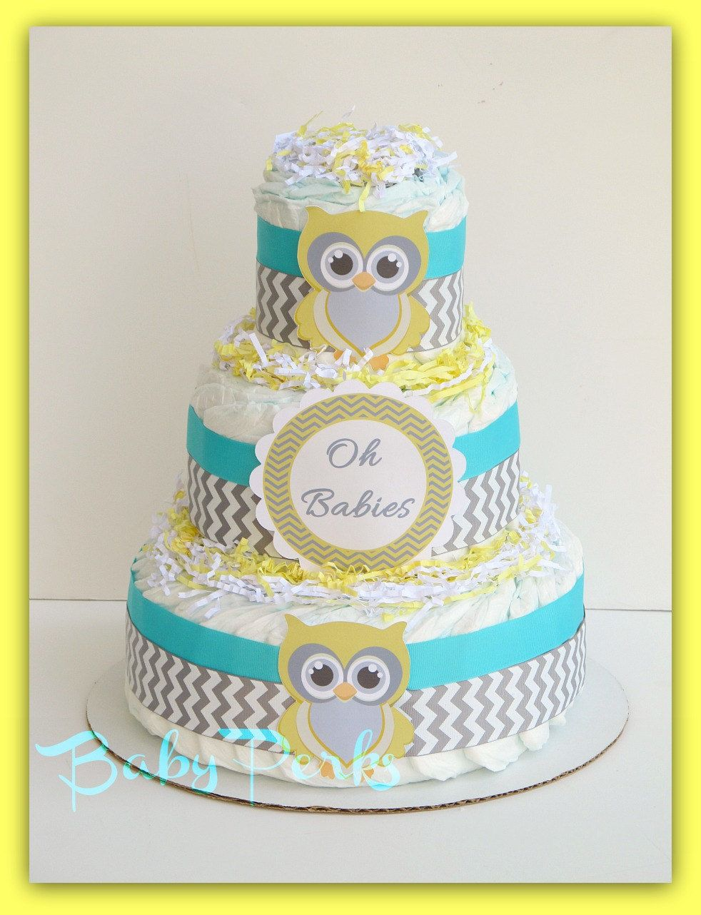 Turquoise Baby Shower Decorations Reserved Listing For Claudine P Turquoise Yellow Turquoise And