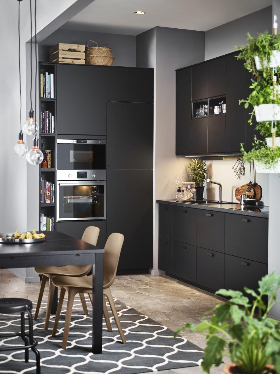 Kungsbacka Anta Antracite 60x80 Cm Con Immagini Idee Cucina