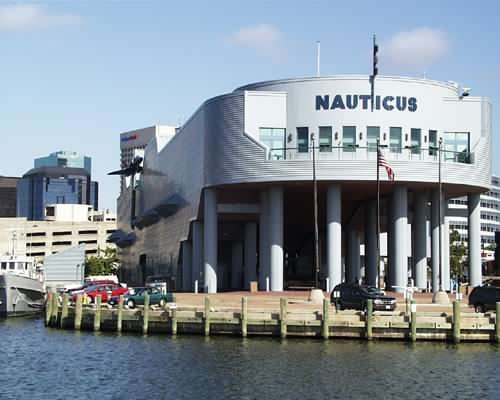 jacque cousteau nauticus museum norfolk va you can see it from portsmouth norfolk va in. Black Bedroom Furniture Sets. Home Design Ideas