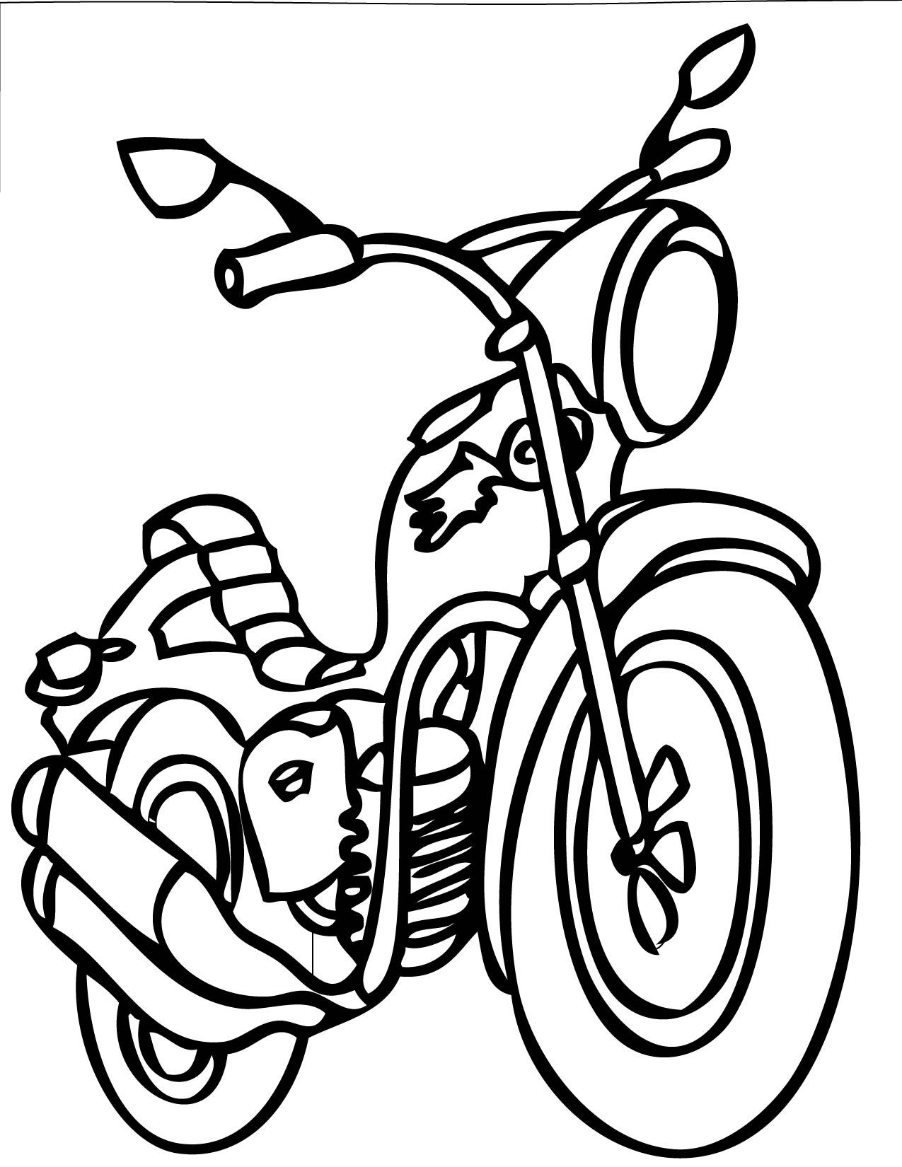 Transportation Coloring Pages Handipoints