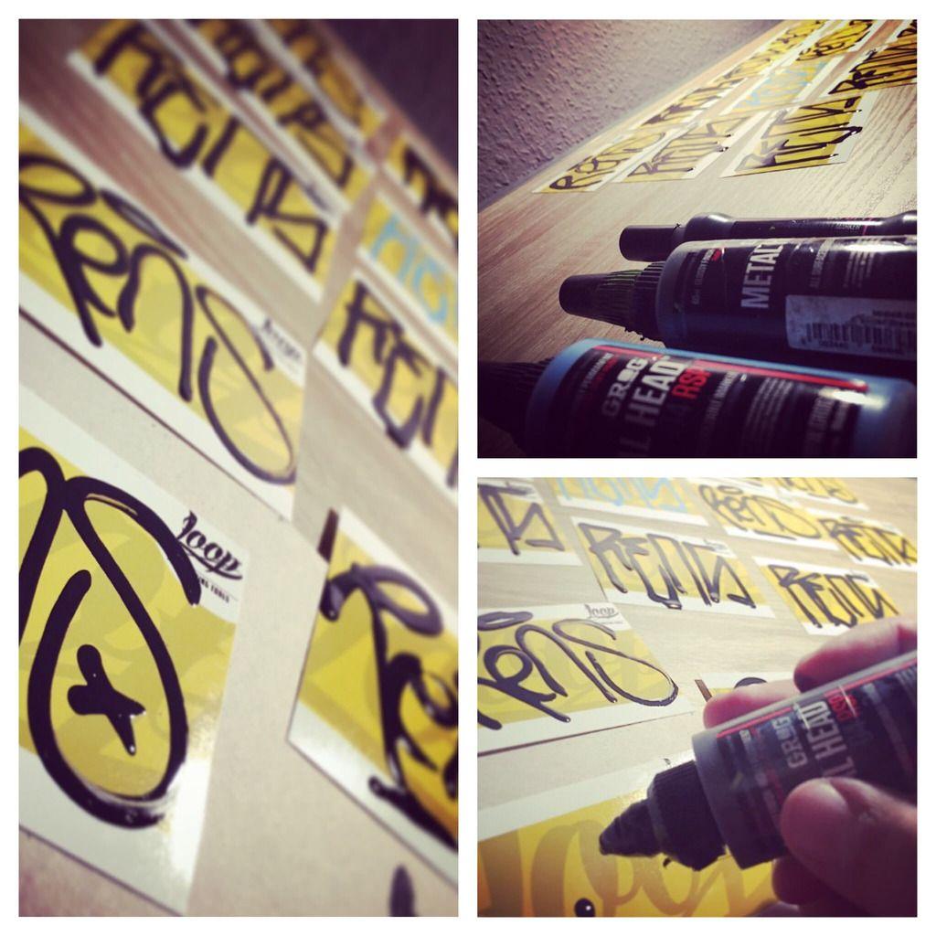 stickers graffiti tagg - Buscar con Google