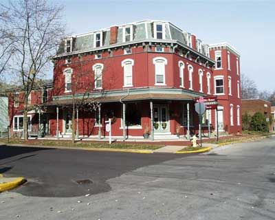 The Historic Sheller Hotel In North Manchester