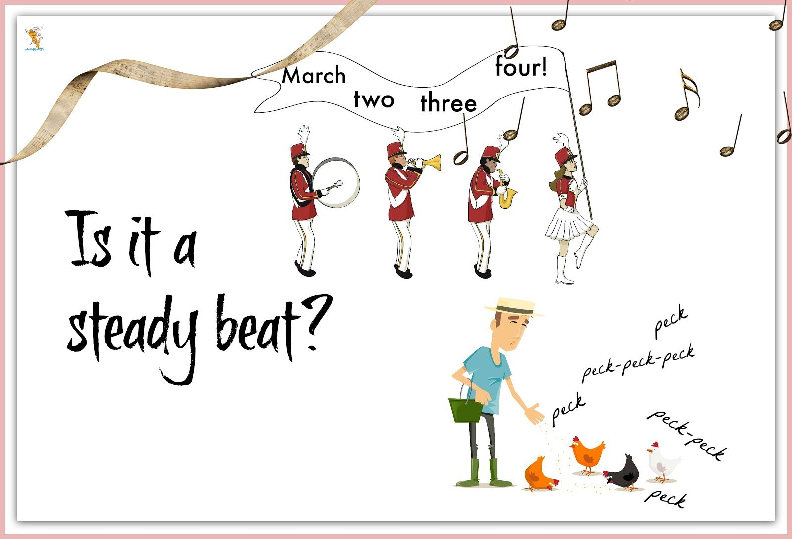 Magical Movement Company's Blog From The Montessori Music Room: Is It A Steady Beat? Introducing my newest Printables available at TPT