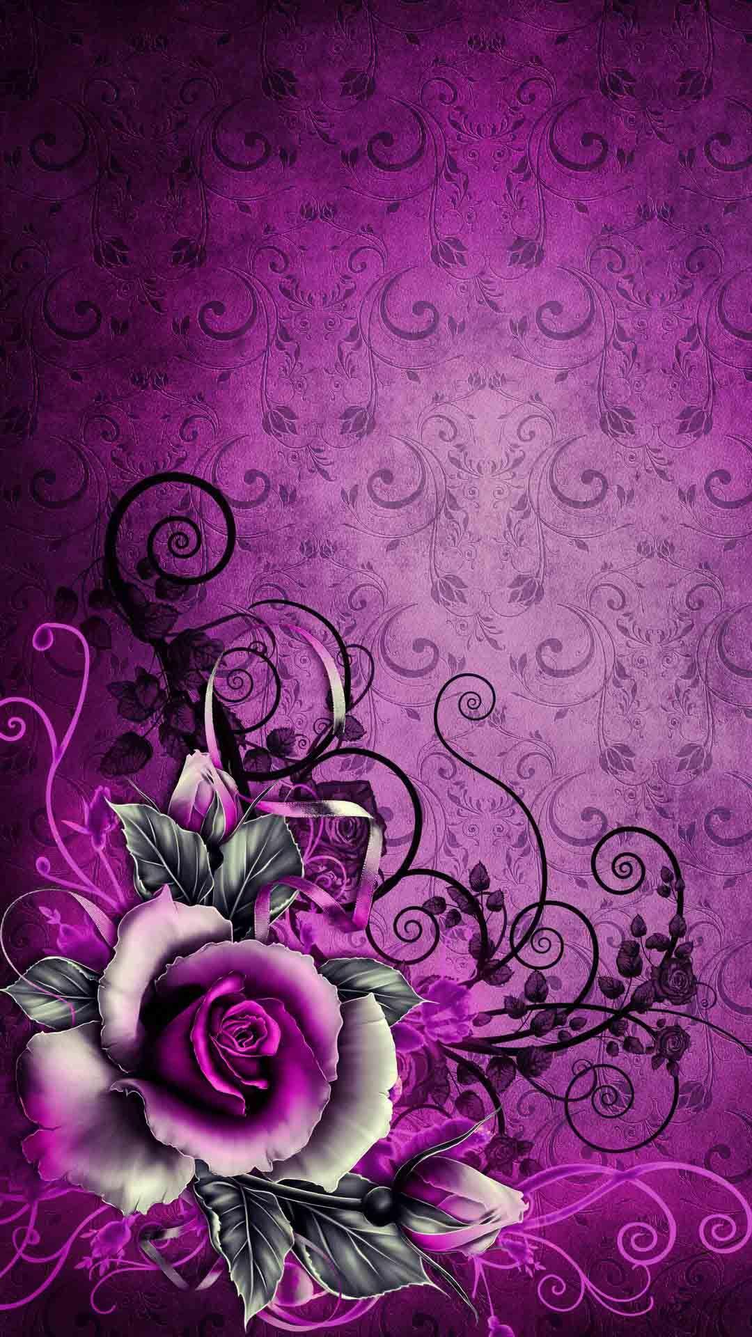En Güzel IPhone Duvar Kağıtları | Teknocard | Flower phone wallpaper,  Flower art, Flower wallpaper