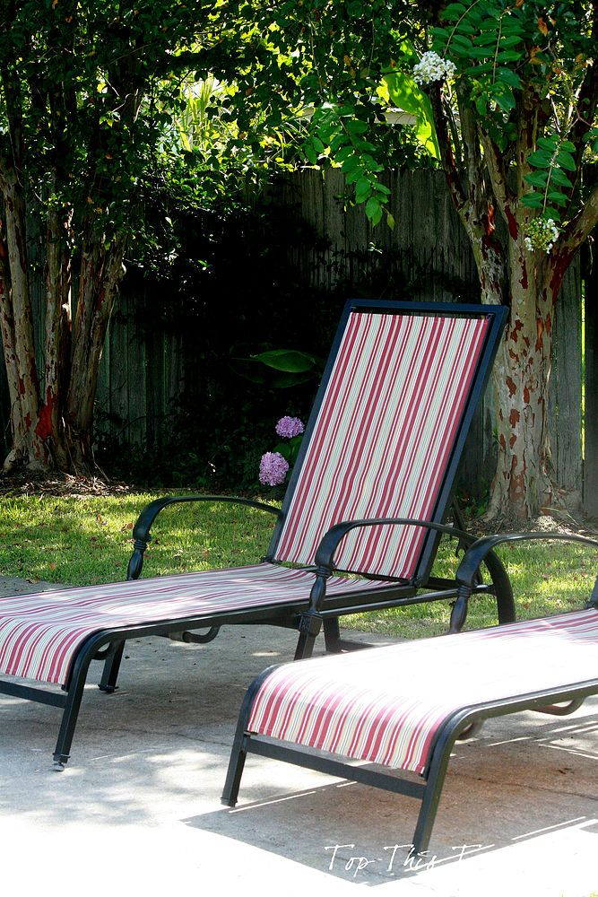 Refurbish Your Old Chaise Loungers Outdoor Furniture Outdoor Living Painted Furnitur Outdoor Chaise Lounge Patio Furniture Chaise Lounge Patio Lounge Chairs