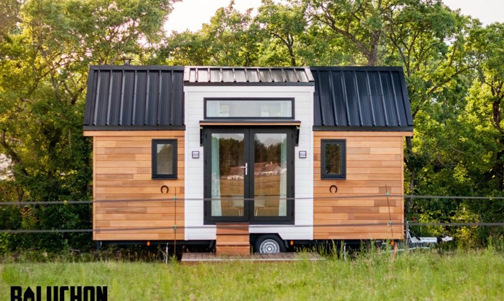 Enchanting tiny home combines rustic French charm and modern luxury