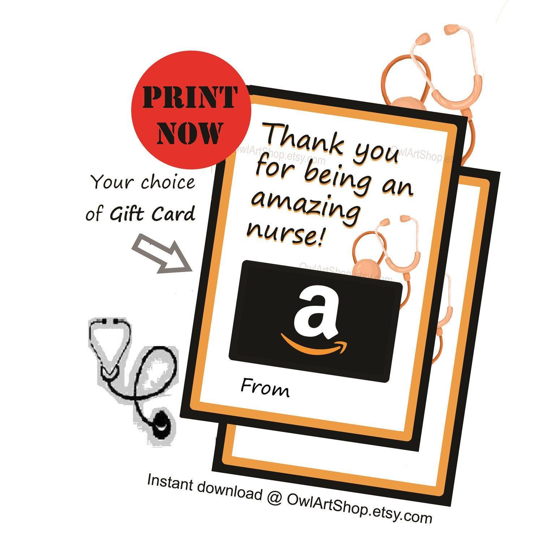 Amazing nurse gift card holder nurses appreciation amazon
