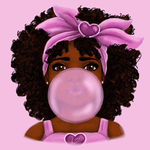 Bubble Gum by KiraTheArtist (print image)