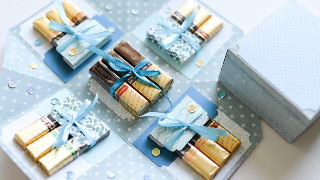 49+ Exploding box gift diy ideas