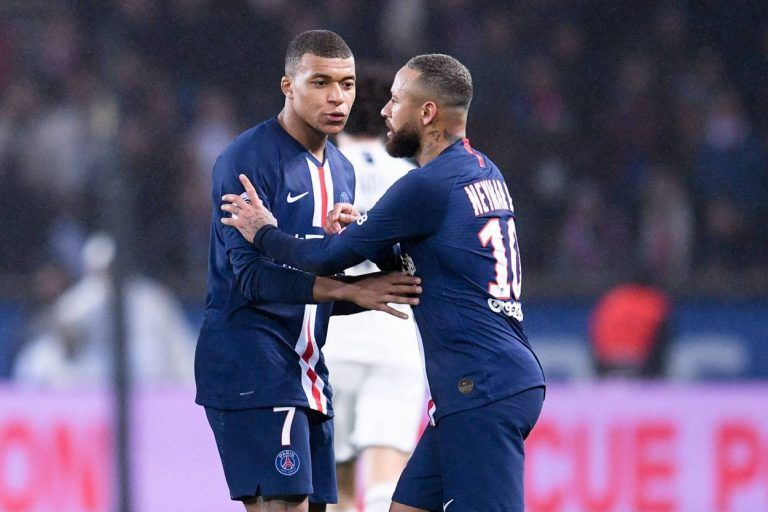 Psg Vs Bordeaux Neymar Sent Off In A Thrilling Psg Win In 2020 Neymar Psg Bordeaux
