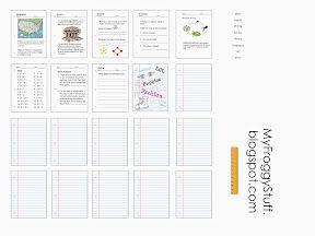 Myfroggystuff Blogspot Worksheets Com Worksheets for all ...