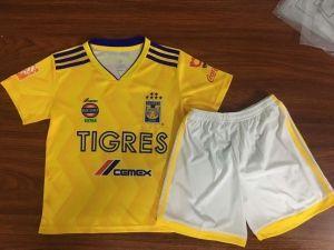 2018-19 Cheap Youth Kit Tigres Uanl Home Replica Soccer Kids Suit  CFC993  f0fdd795e