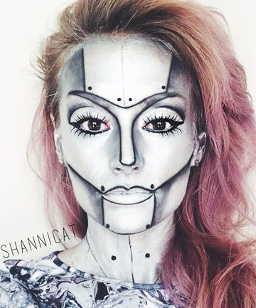 16 Last Minute Halloween Costumes That Only Require Makeup - Makeup Only Costumes