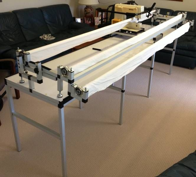 Can-Quilt Quilting frame - Complete home package (incl extras ... : longarm quilting gadgets - Adamdwight.com