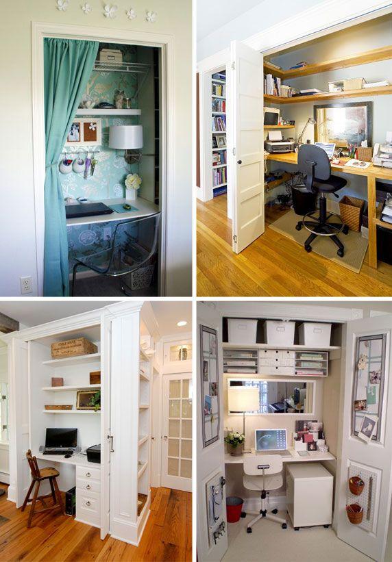 House · Closet Desk.