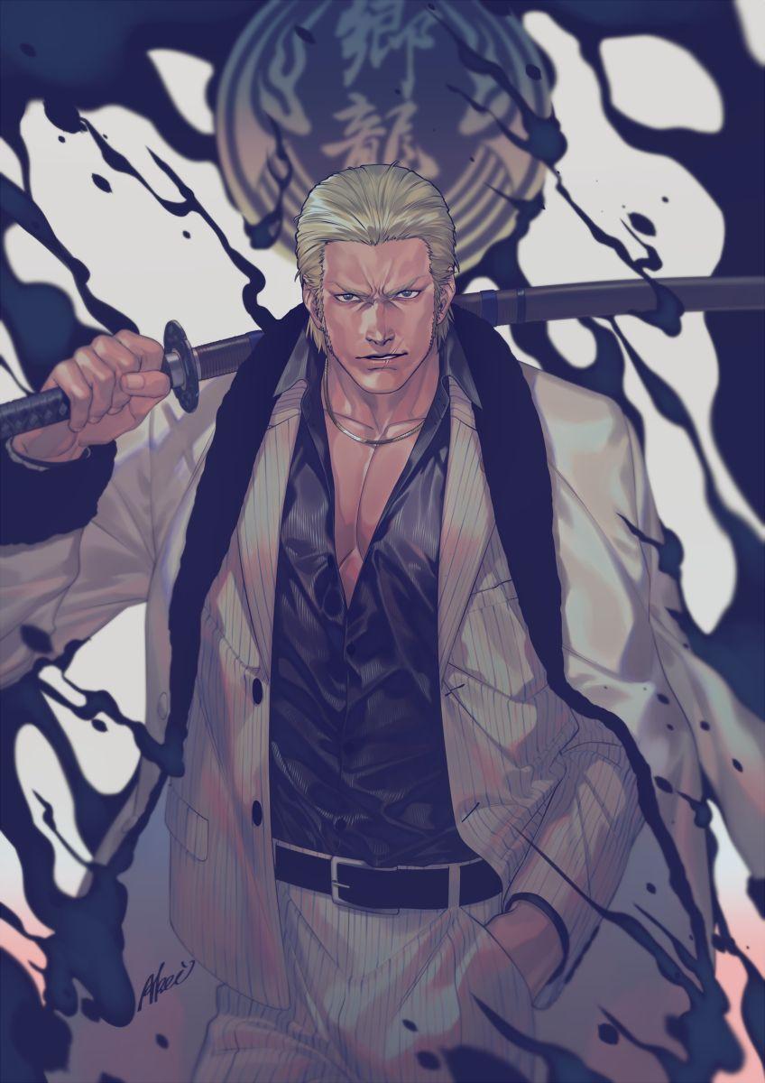 Yakuza Ryuji Goda by Akei Yakuza anime, Videogames