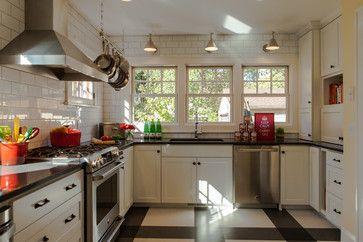 Retro Minneapolis Kitchen - modern - kitchen - minneapolis - Fiddlehead Design Group, LLC