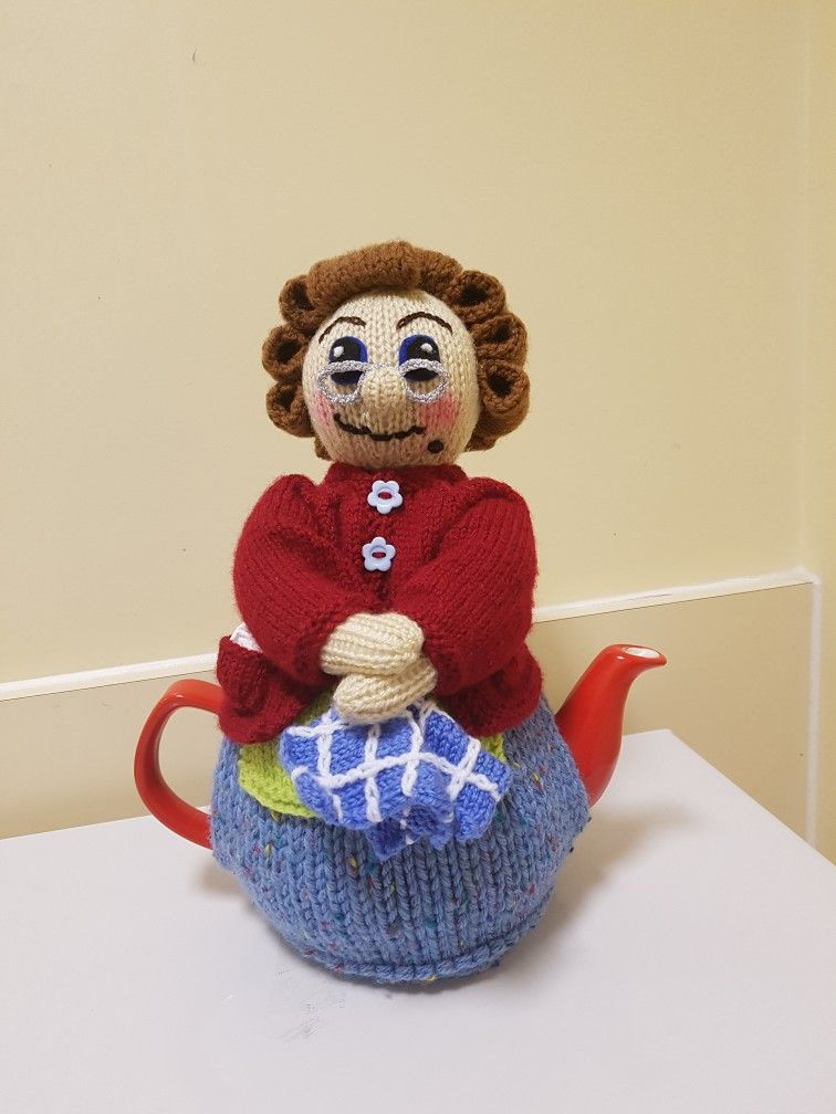Knitting Pattern For Mrs Brown Tea Cosy Hand Knit By Ber Kelly
