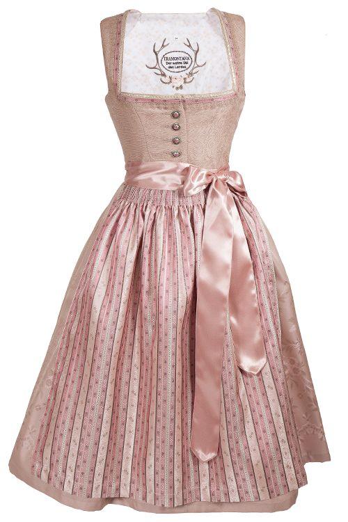 Kleid farben altrosa